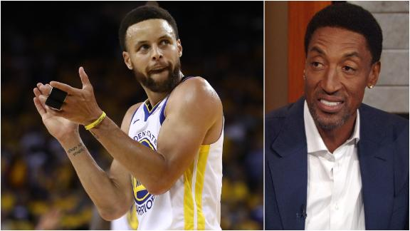 Pippen: No reason why Curry shouldn't be MVP front-runner