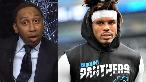 Stephen A. isn't giving up on Cam yet