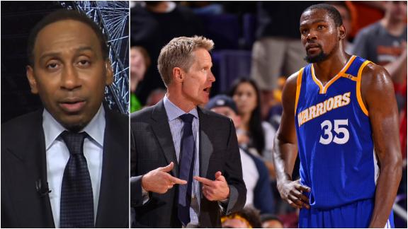 Stephen A.: Kerr and KD's relationship was not good