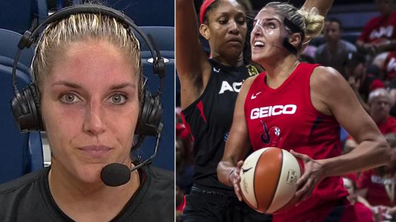 Delle Donne wanted to be a calming presence in Game 1