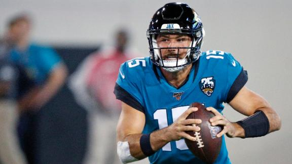 Minshew's 2 TDs lead Jags' win over Titans