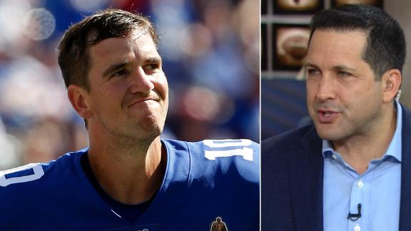 Schefter: Eli is still good enough to start, but there's more to it