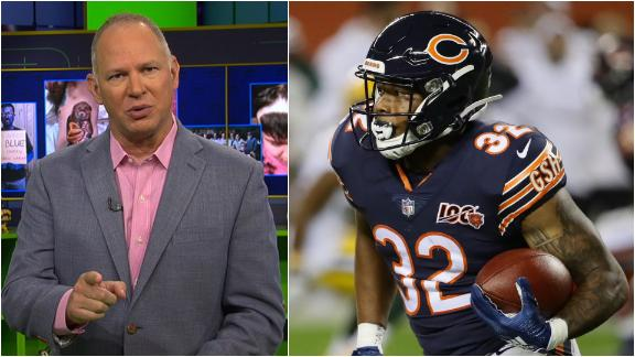 Can Montgomery takes over the Bears' RB job in Week 3?