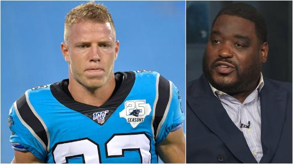 Woody: McCaffrey to be featured heavily with Cam out