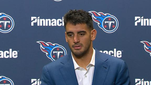 Mariota frustrated with offensive struggles after loss