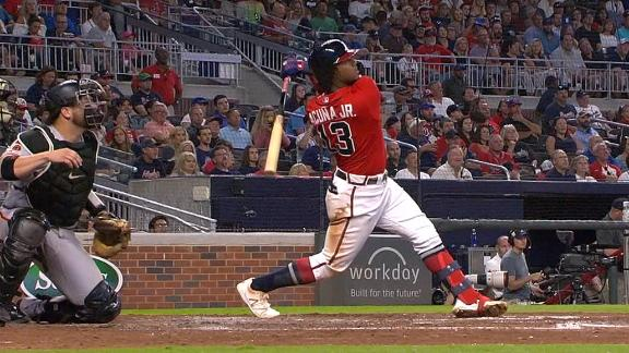 Acuna eclipses 100 RBIs with home run