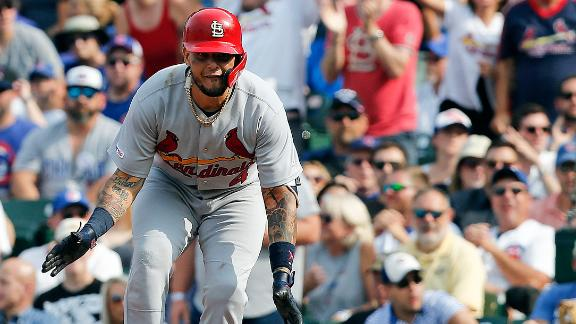 Molina's 2-RBI single all the offense Cards need