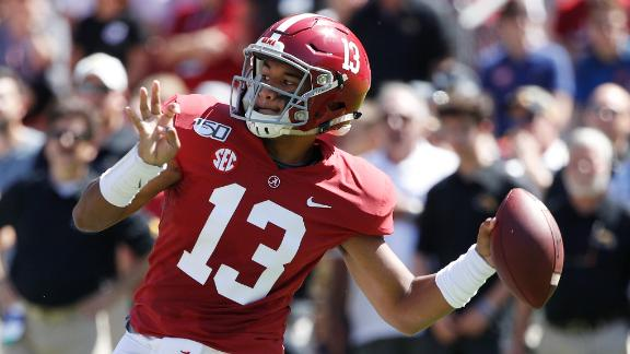 Tua throws 5 TDs for 2nd straight game