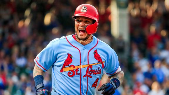 Molina and DeJong go back-to-back to seal Cards' win