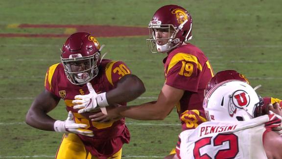 Fink's deep pass sets up USC TD run