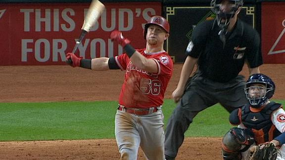 Fletcher, Calhoun go deep in Angels' win