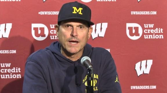 Harbaugh: We were outplayed and outcoached