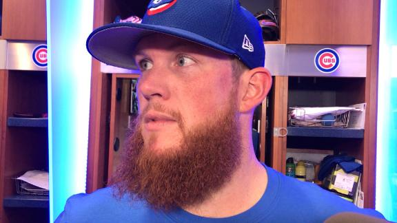 Watch Craig Kimbrel discuss the two HRs he gave up