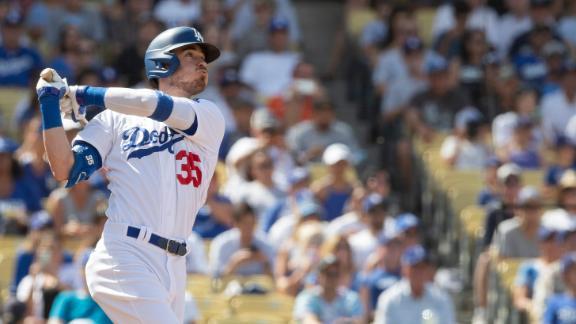 Bellinger blasts grand slam in Dodgers' win