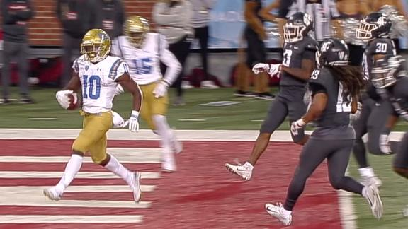 UCLA completes historic comeback on Thompson-Robinson's 5th TD