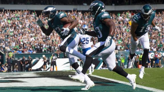 Agholor reels in 2 TDs in Eagles' loss