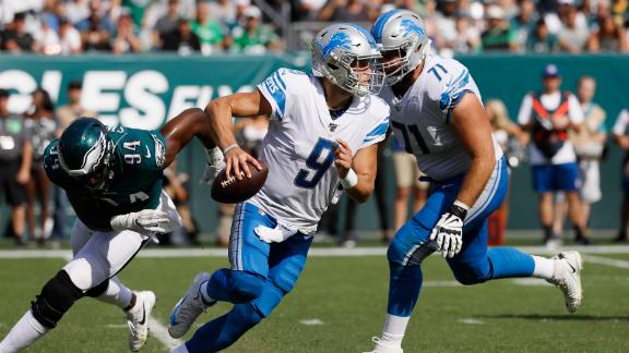 Lions stay unbeaten with early heroics from special teams