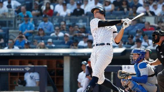 Judge goes yard in Yankees' win