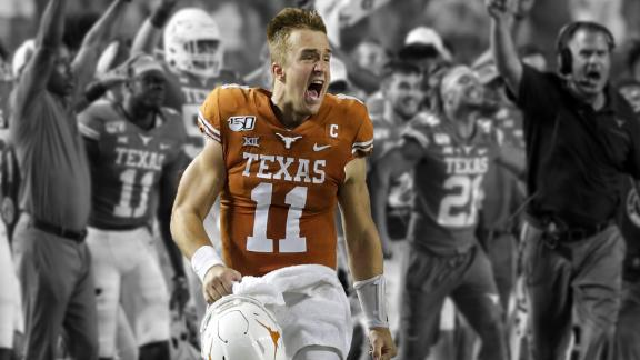 Ehlinger dominates OSU with another Heisman worthy performance