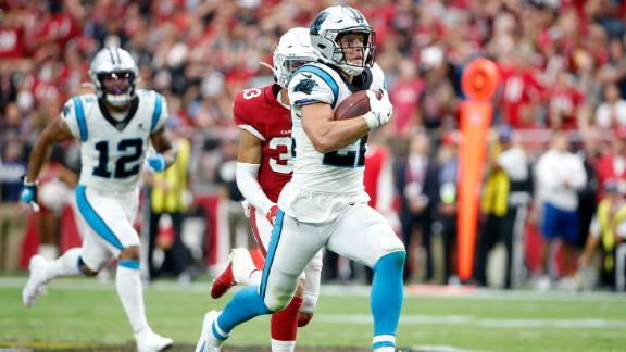 McCaffrey takes off for 76-yard score