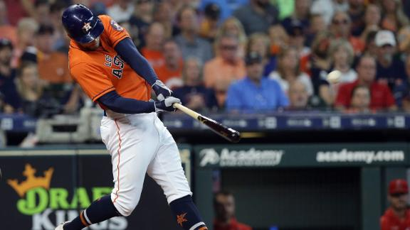 Springer goes deep three times in Astros' rout