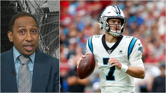 Stephen A. makes the case for Carolina sticking with Allen