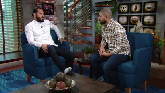 Masvidal: Being away helped me find my voice