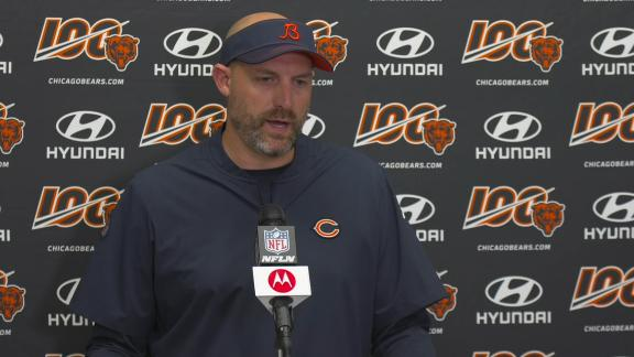 Nagy praises Trubisky after Bears' win