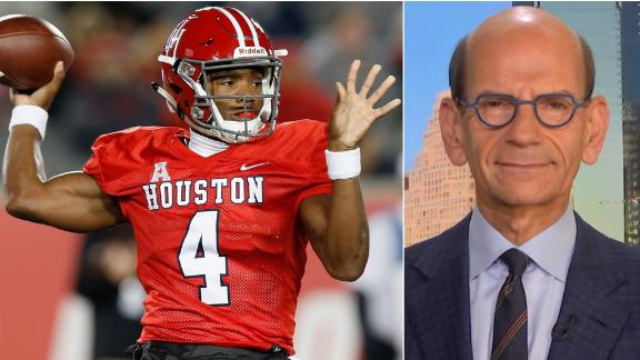 Finebaum doesn't believe King will sit out and stay at Houston