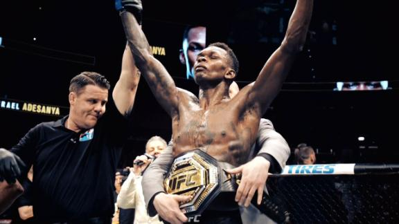 The best of Israel Adesanya
