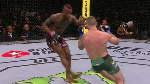 Diakiese lands nasty leg kicks in first round