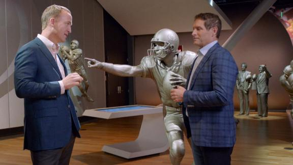 Peyton learns about the extinction of left-handed quarterbacks
