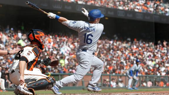 Dodgers tally 106th win behind 5-run 1st