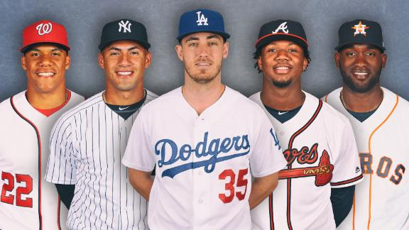 The 5 young stars ready to take over the MLB playoffs