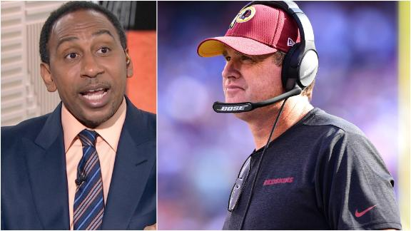 Stephen A.: Jay Gruden needs to go now