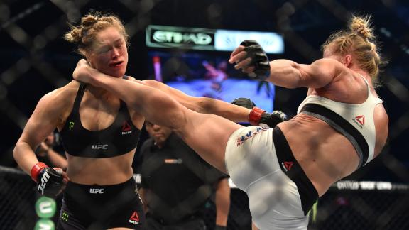 Holm's KO of Rousey shocked the world