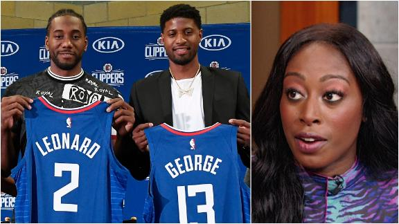 Ogwumike: Kawhi, PG-13 the best two-way duo in the NBA