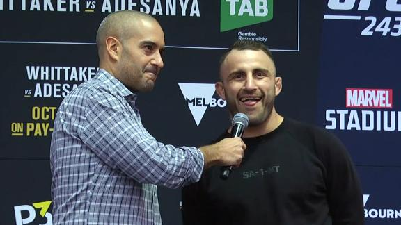 Volkanovski: 'I'm bringing that belt back to Australia'