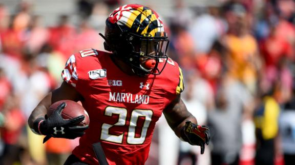 Maryland's 3 long touchdowns fuel win vs. Rutgers
