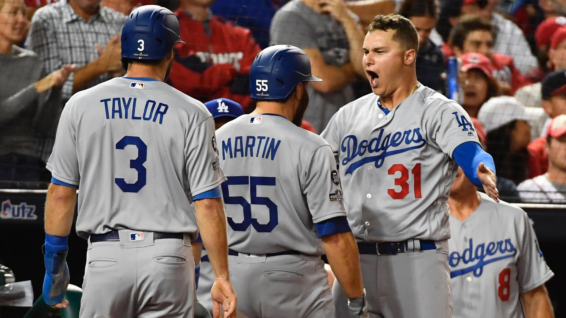 Dodgers erupt for 7 runs in 6th inning