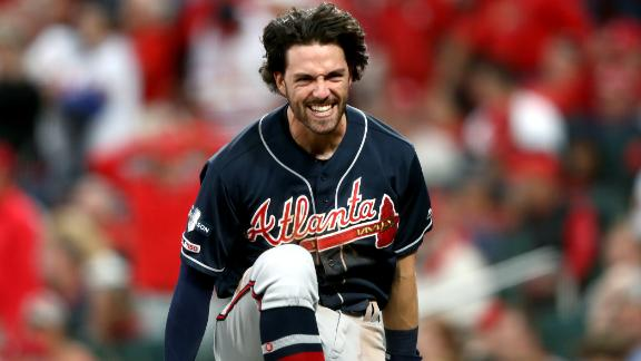 Braves come up clutch in the ninth