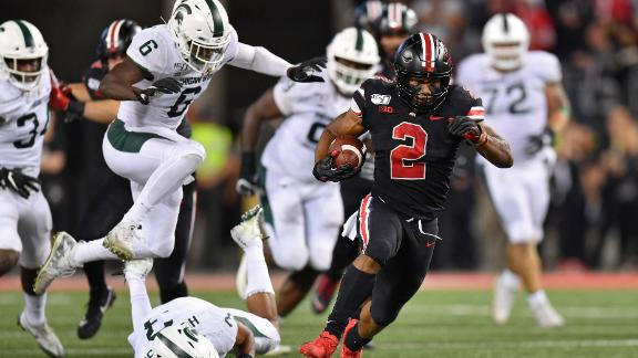 Ohio State makes statement as playoff front-runner