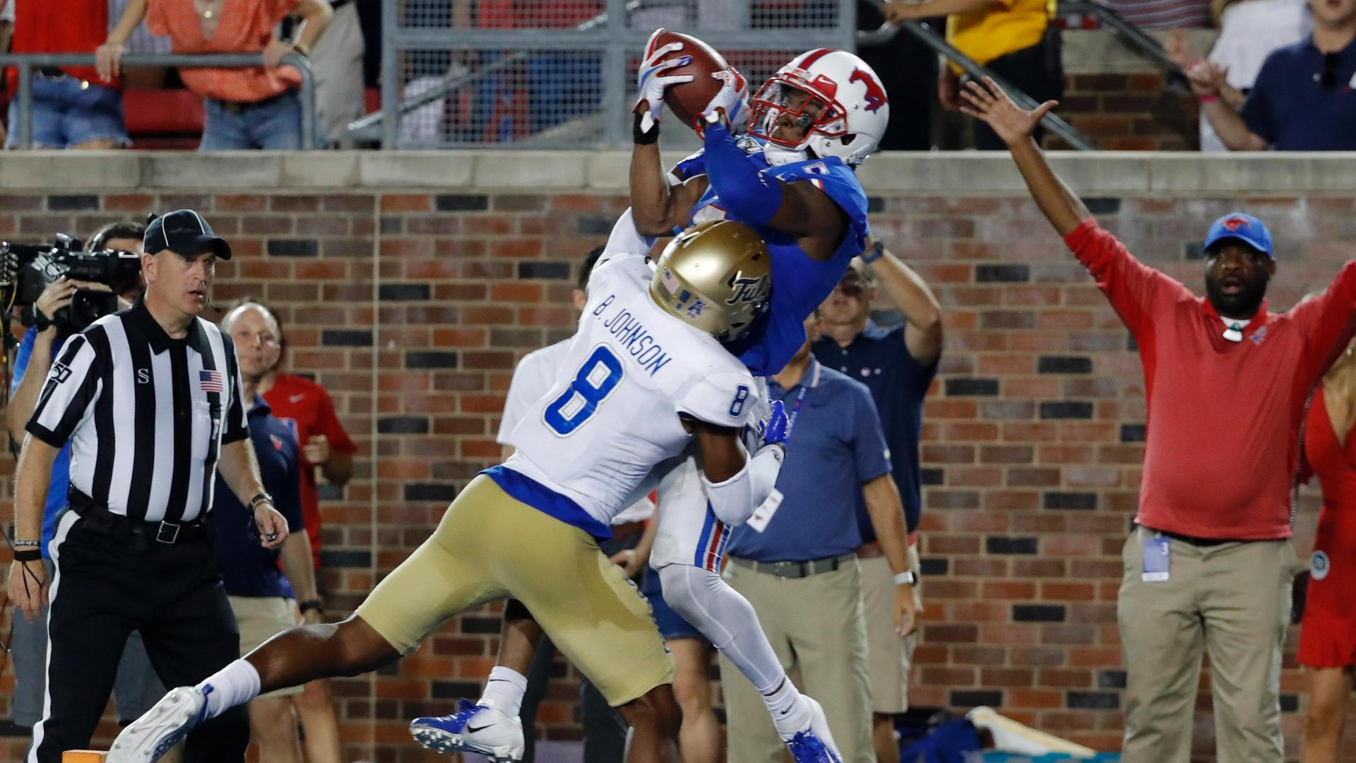 Proche hauls in SMU's winning TD grab in 3OT