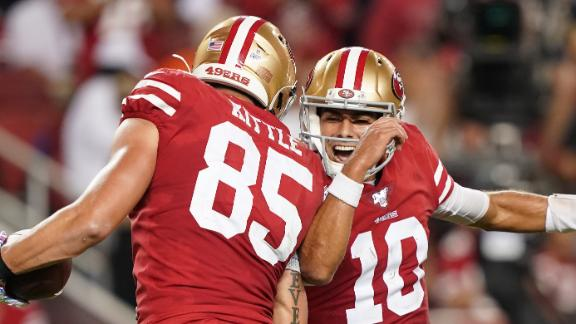 49ers dominate Browns on all sides of the ball