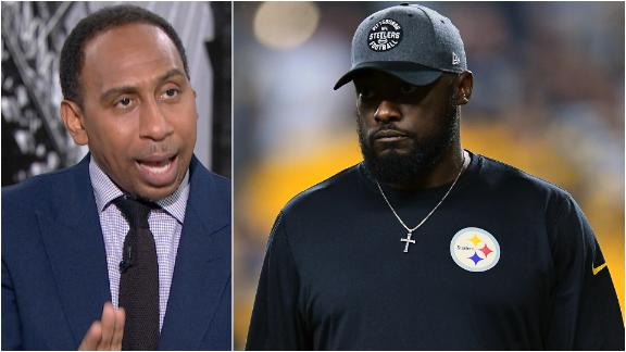 Stephen A. wants Tomlin to get control of the Redskins