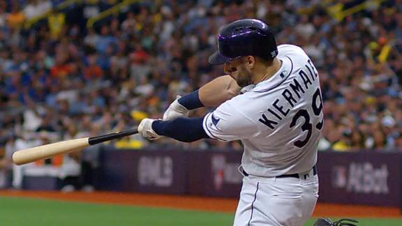 Rays launch 4 homers in win vs. Astros