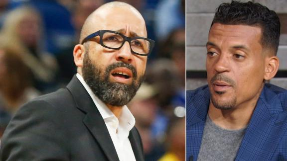 Barnes: Knicks are going to 'stay in the toilet'