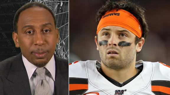 Stephen A.: Mayfield isn't a scrub, but he is overrated