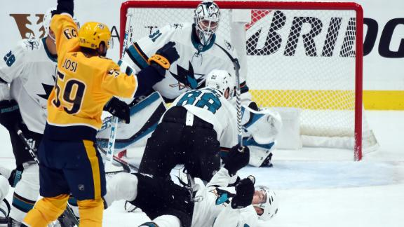 Josi nets two goals in Preds' win