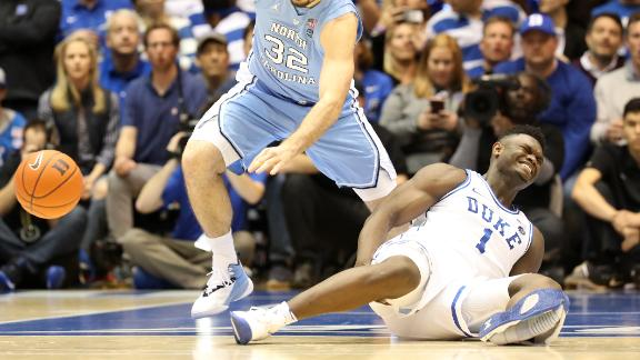 Zion didn't let broken shoe influence Jordan deal